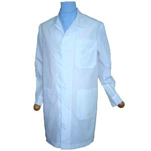 MEN'S LAB COAT OPEN COLLAR LONG-SLEEVE SHORT-SLEEVE A110100