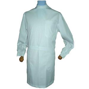 MEN'S LAB COAT BACK BUTTON FASTENING LONG-SLEEVE A140