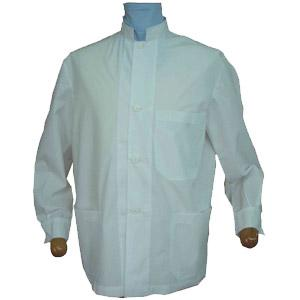 MEN'S LAB TUNIC MANDARIN COLLAR LONG-SLEEVE SHORT-SLEEVE A220