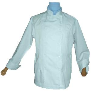 CHEFS JACKET BUTTON FRONT LONG-SLEEVE SHORT-SLEEVE A240