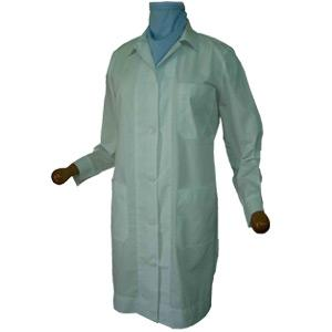 WOMAN'S LAB COAT OPEN COLLAR LONG-SLEEVE SHORT-SLEEVE G110