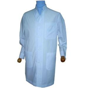 MEN'S LAB COAT MANDARIN COLLAR LONG-SLEEVE  A1206040
