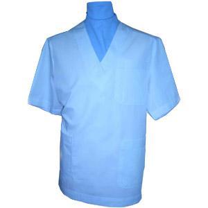 MEN'S V-NECK SCRUB TOP X120