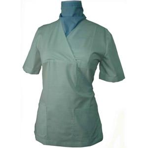 WOMAN'S CROSSOVER SCRUB TOP X150